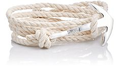 We Adore: The Hook On Leather Wrap Bracelet from Miansai at Barneys New York