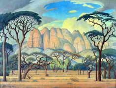 A painting entitled 'Kransberg, Rustenberg, Transvaal' made the top price at the Bonhams the international auction house in London this week when the landscape by Jacob Hendrik Pierneef sold for