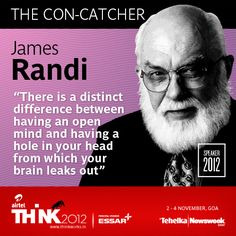 We are super-thrilled to announce speaker 3 at THiNK2012: James Randi, skeptic, debunker of the paranormal & escape artist! Want to know more about 'The Amazing Randi?' http://thinkworks.in/speakers/james-randi/