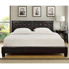 Modus Ledge Upholstered Platform Bed - Beds at Hayneedle
