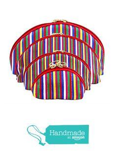 Korea Traditional 4 Pieces of Multipurpose Vivid Stripe Embroidery Zip Wallet Set https://www.amazon.com/dp/B01HWJEMKA/ref=hnd_sw_r_pi_dp_xhpExb5Y51CDQ #handmadeatamazon