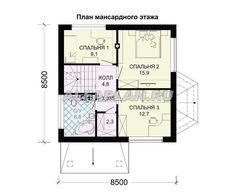 План 3 (прямой) Traditional House, House Plans, Catalog, Floor Plans, How To Plan, Architecture, Closer, Modern, Ideas