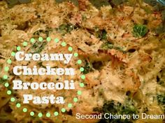 Creamy+Broccoli+Chicken+Pasta+Title Creamy Chicken Broccoli Pasta & Quick & Easy Way to Give Back