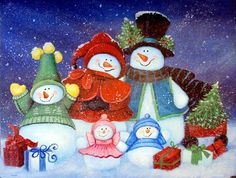 """jamie carter snowman   Merry Christmas From Us All"""" by Jamie Carter"""