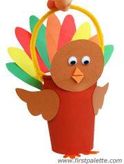 Paper cup turkey