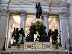 Venedig, Isola San Giorgio, Chiesa di San Giorgio Maggiore, Hochaltar und Chor (high altar and chancel)