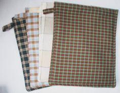 Microwave Cooking Bag Homespun Fabrics Cook by BobbinAround4U, $5.50