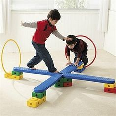 Weplay Motor Skills 34 Piece Learning Set. This set costs almost 500 dollars... But it gives me ideas on something I can try to DIY