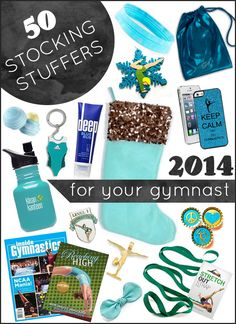 The 2015 list will be out soon!  50 Stocking Stuffers 2014  Gymnastics Gifts  Gym Gab