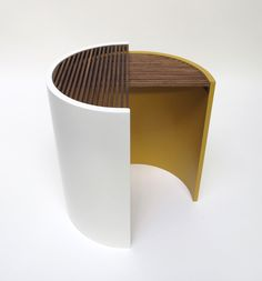 Moiré Side Tables by Bower