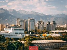 Almaty city view, top places to see in Kazakhstan Places To Travel, Places To See, Top Place, Modern City, Central Asia, Kazakhstan, Seattle Skyline, Day Trips, San Francisco Skyline