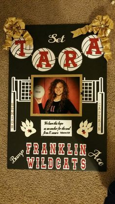 Volleyball Senior Poster 2017 Volleyball Senior Gifts, Volleyball Crafts, Volleyball Party, Volleyball Pictures, Volleyball Ideas, Volleyball Locker Signs, Volleyball Tournaments, Volleyball Locker Decorations, Volleyball Posters