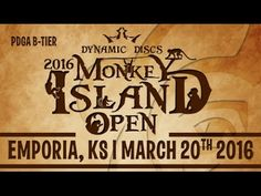 2016 Monkey Island Open | Disc Golf Tournament