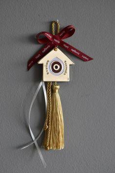 Christmas Home, Christmas Crafts, Christmas Decorations, Xmas, Christmas Ornaments, Holiday Decor, Diy Clay, Lucky Charm, Greek