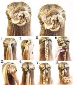Easy Step By Step Tutorials On How To Do Braided Hairstyle Hairstyles) – Gymbuddy Now braidedhairstyles 740771838691837753 Box Braids Hairstyles, Lazy Girl Hairstyles, French Braid Hairstyles, Step By Step Hairstyles, Pretty Hairstyles, Simple Hairstyles, Easy Hairstyles Tutorials, School Hairstyles For Teens, Braid Tutorials