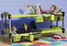 Portable Bunk Bed Cots