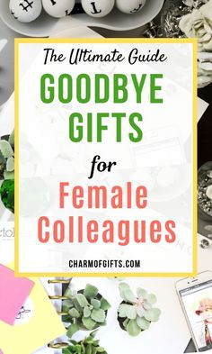 21 Farewell gifts that are thoughtful and will be appreciated. If you were wondering what to get for the Females colleague, check out this list of 21 amazing ideas. Gifts For Female Coworkers, Goodbye Gifts For Coworkers, Gifts For Colleagues, Gifts For Boss, Gift For Coworker Leaving, Farewell Gift For Coworker, Leaving Gifts, Farwell Gifts, Miss You Gifts