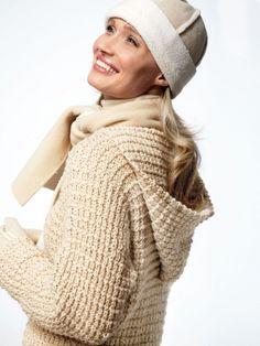 April's Pullover | Yarn | Free Knitting Patterns | Crochet Patterns | Yarnspirations