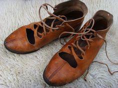 Good looking repro boots based on Vindolanda finds.
