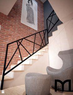 Modern House Stairs Design Best Of Stock Schody Styl Nowoczesny Zdjęcie Od Mart Design Architektura Wnętrz Staircase Railing Design, Outdoor Stair Railing, Modern Stair Railing, Interior Railings, Staircase Handrail, Home Stairs Design, Metal Stairs, Modern Stairs, Interior Stairs