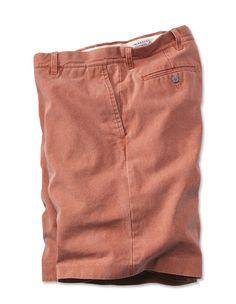 Nantucket Reds™ Canvas Shorts --$89.