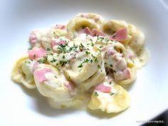 Rezepte mit Herz ♥: Tortellini mit Sahnesauce
