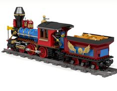 Minecraft Projects, Lego Projects, Cool Lego, Cool Toys, Lego Christmas Train, Z Scale Trains, Classic Lego, Lego Builder, Lego Trains