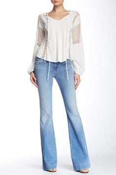 Love Story Low Rise Bell Bottom Jean