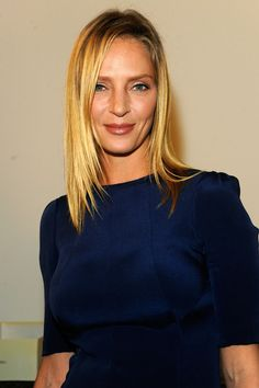 From Sienna Miller to Lupita Nyong'o: The Best-Dressed Women in Calvin Klein's Front Row Image Tips, Uma Thurman, Sienna Miller, Calvin Klein Collection, Tall Women, Professional Women, Celebs, Celebrities, Front Row