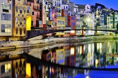 Girona Blue Hour by Ben Evans on 500px