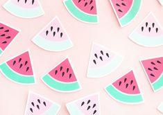 DIY Watermelon Stickers