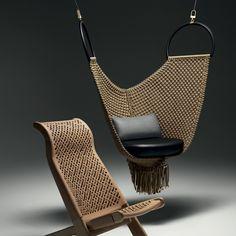 Un balancelle ultra chic, Louis Vuitton