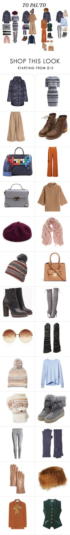 """How to wear down jacket"" by helen-alexandrov on Polyvore featuring мода, FAY, Anya Hindmarch, WithChic, MaxMara, Kathy Jeanne, Mint Velvet, Dorothy Perkins, Michael Kors и Brunello Cucinelli"