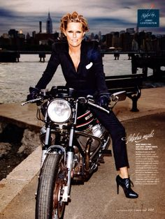 Style, beauty, love, and everything in between. Her Style, Cool Style, What To Wear Today, How To Wear, Motorbike Girl, Motorcycle Girls, Patti Hansen, Music Images, Man Up