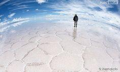 Deserto de sal da Bolívia