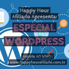 Estou AO VIVO no Happy Hour Afiliado!  Assista!  http://ift.tt/2ajJlRa  #marketingdigital #marketingdeafiliados #empreendedorismo #afiliados #wordpress #wordpressbrasil