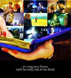 It makes me sad we will never get to see all the times the Doctor stole River Song away from her prison cell, or all the moments in her diary we don't know about.