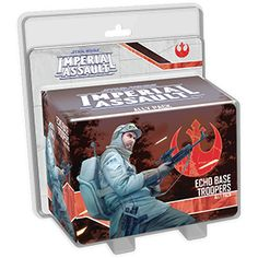 Rebel Troopers fight across the galaxy, but the troopers stationed at Echo Base were specially trained to deal with the extreme environment that awaited them there. This specialized training can make the difference between victory and defeat in a game of Imperial Assault. This figure pack ...