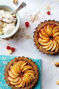 Apple and Fig Tart