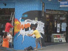 Shop Facade in Rua Augusta, São Paulo