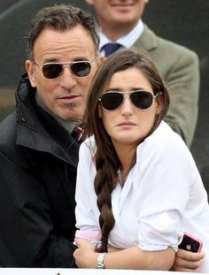 ♥ Bruce and daughter Jessica