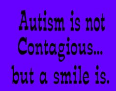 When you come across a child having a meltdown, dont judge, dont make comments, just smile, and ask if we need help.