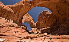 Double O Arch.