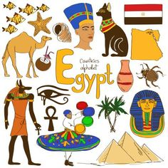Culture Map 'E' is for Egypt with this next alphabetical countries worksheet from KidsPressMagazine!'E' is for Egypt with this next alphabetical countries worksheet from KidsPressMagazine! Geography For Kids, Teaching Geography, World Geography, Cultures Du Monde, World Cultures, Countries Of The World, African Countries, Egyptian Symbols, Egyptian Art