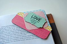 Crafty idea alert!  Create a corner bookmark for your fave reads.  We love this one by Raven Baca using Echo Park's Hello Summer collection.  We have the full collection in stock at www.cardstockshop.com.