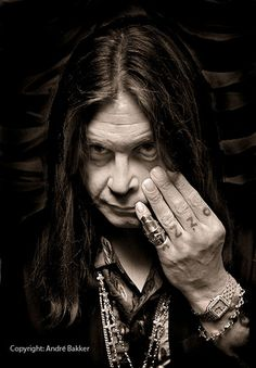 Ozzy Osbourne - another cool shot by Andre Bakker