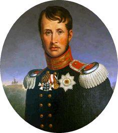 Portrait of Frederick William III of Prussia http://www.madamegilflurt.com/2013/08/notable-births-frederick-william-iii-of.html