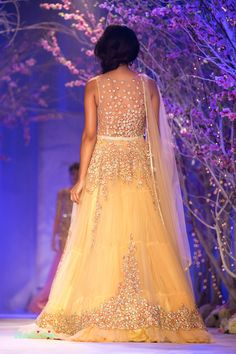 Jyotsna Tiwari at India Bridal Fashion Week 2014 | thedelhibride Indian Weddings blog