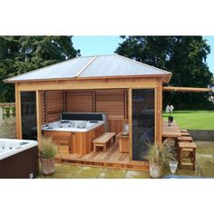 Building A Deck 143130094384185347 - The price of a spa enclosure depends on its basic materials and size. © Clair Azur Source by almaventures