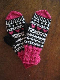 Fair Isle Knitting Patterns, Knit Mittens, Gloves, Villa, Barn, Socks, Colours, Inspiration, Biblical Inspiration